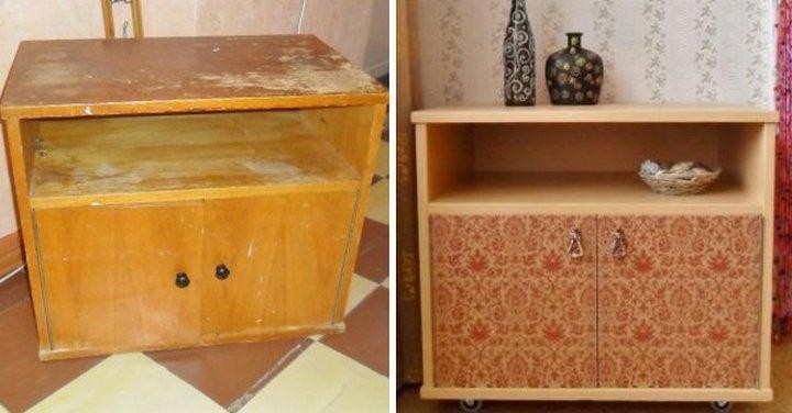 Как отреставрировать мебель из дсп своими руками 14