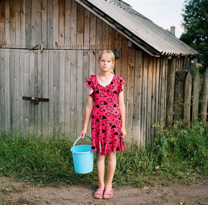 деревенская девка дает всем